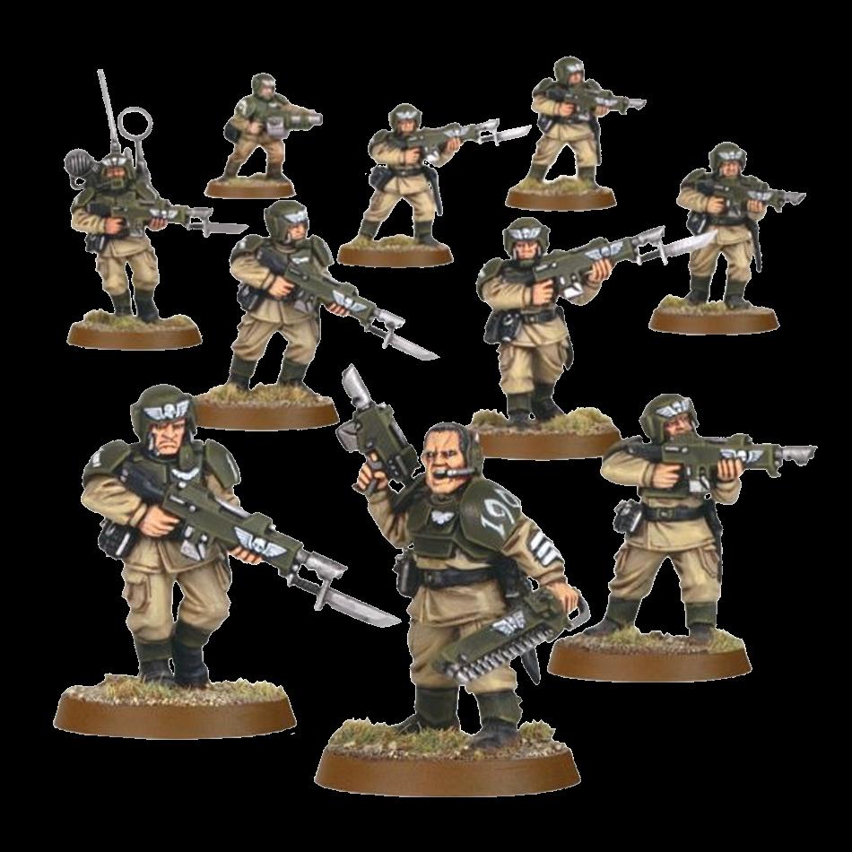 Cadian Infantry Squad 1