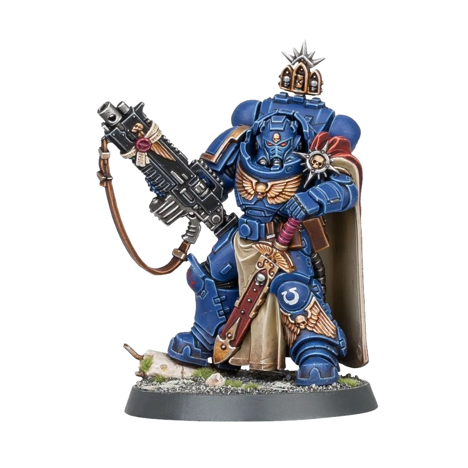 Captain with Master-Crafted Heavy Bolt Rifle 1