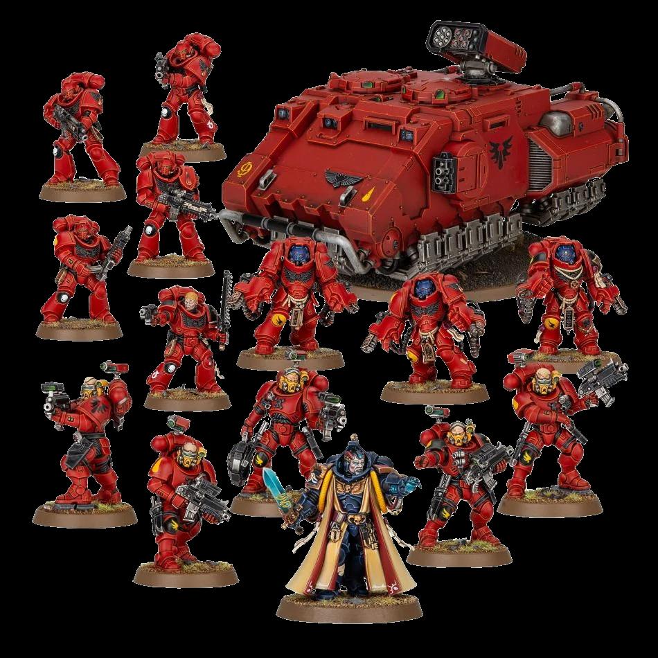 Combat Patrol Blood Angels 1