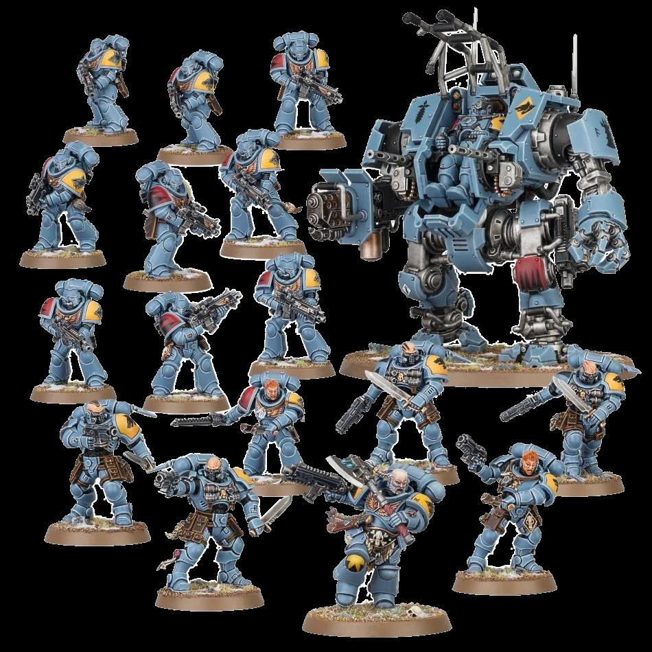 Combat Patrol Space Wolves 1