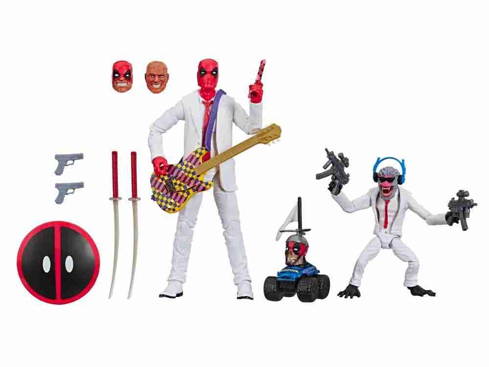 Deadpool Suits 1
