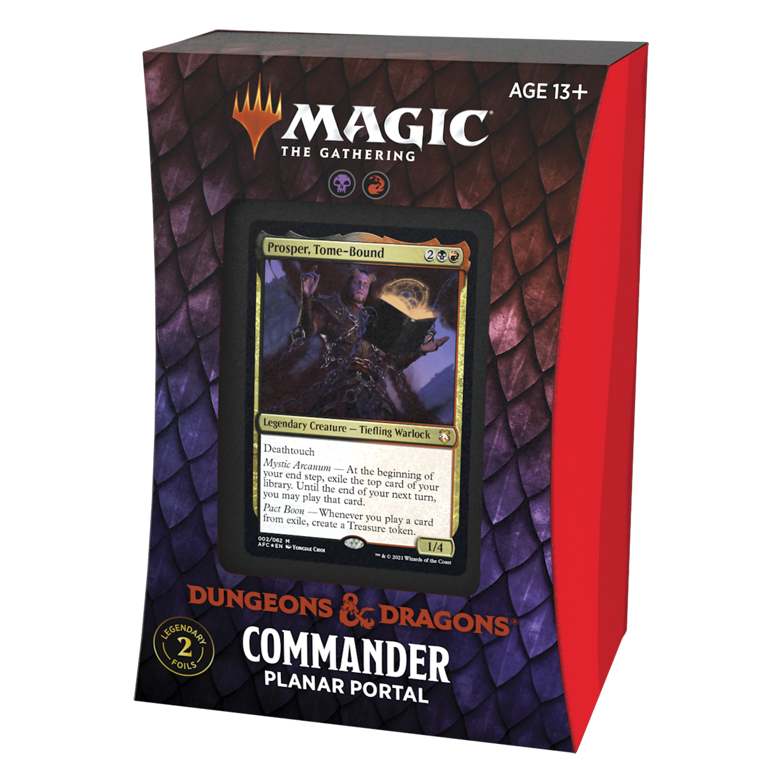 Dungeons & Dragons Adventures in the Forgotten Realms Commander Planar Portal
