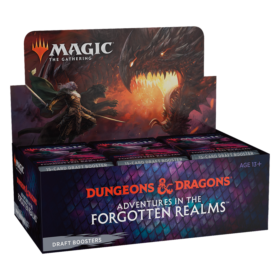 Dungeons & Dragons Adventures in the Forgotten Realms Draft Booster Box
