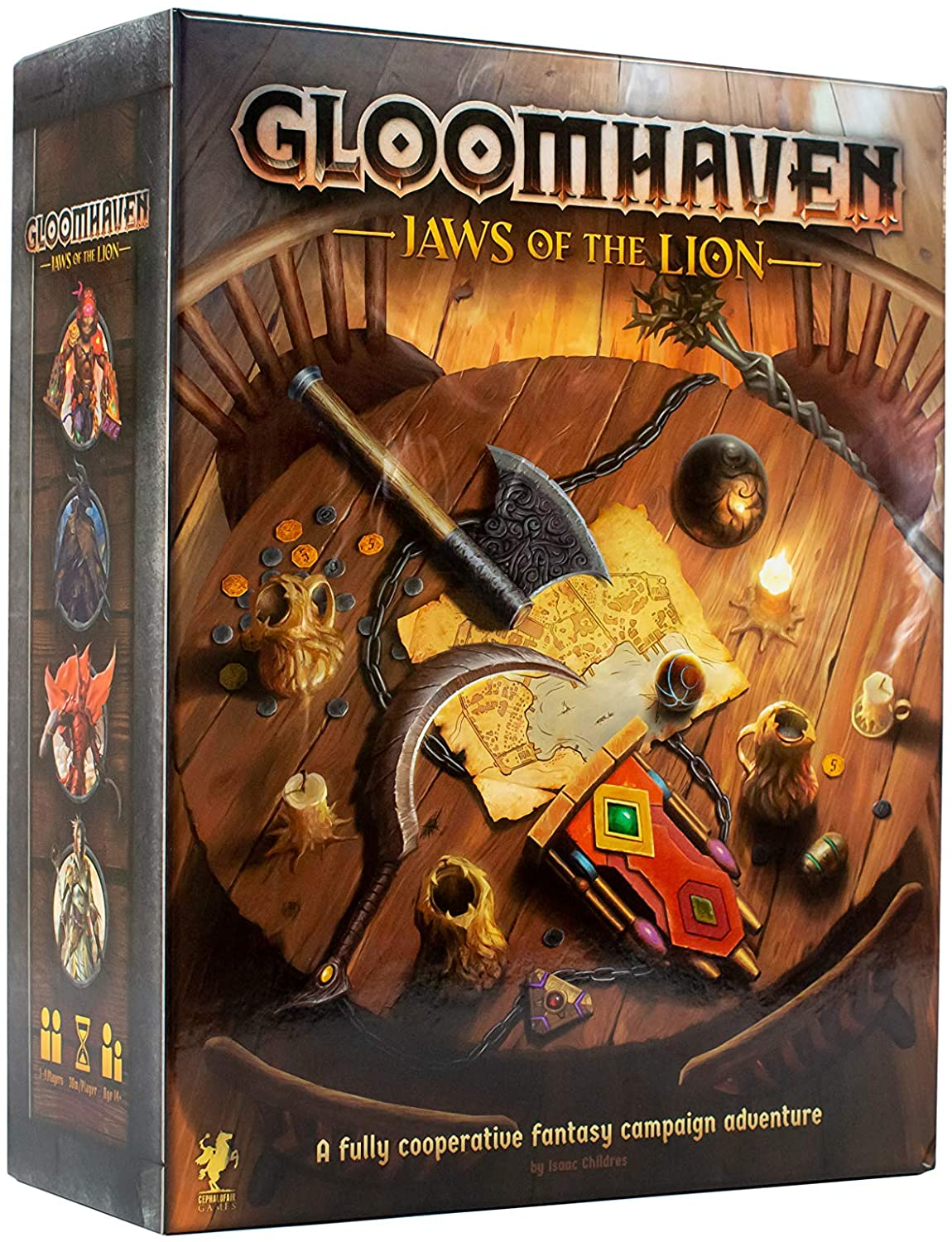 Gloomhaven Jaws of the Lion 1