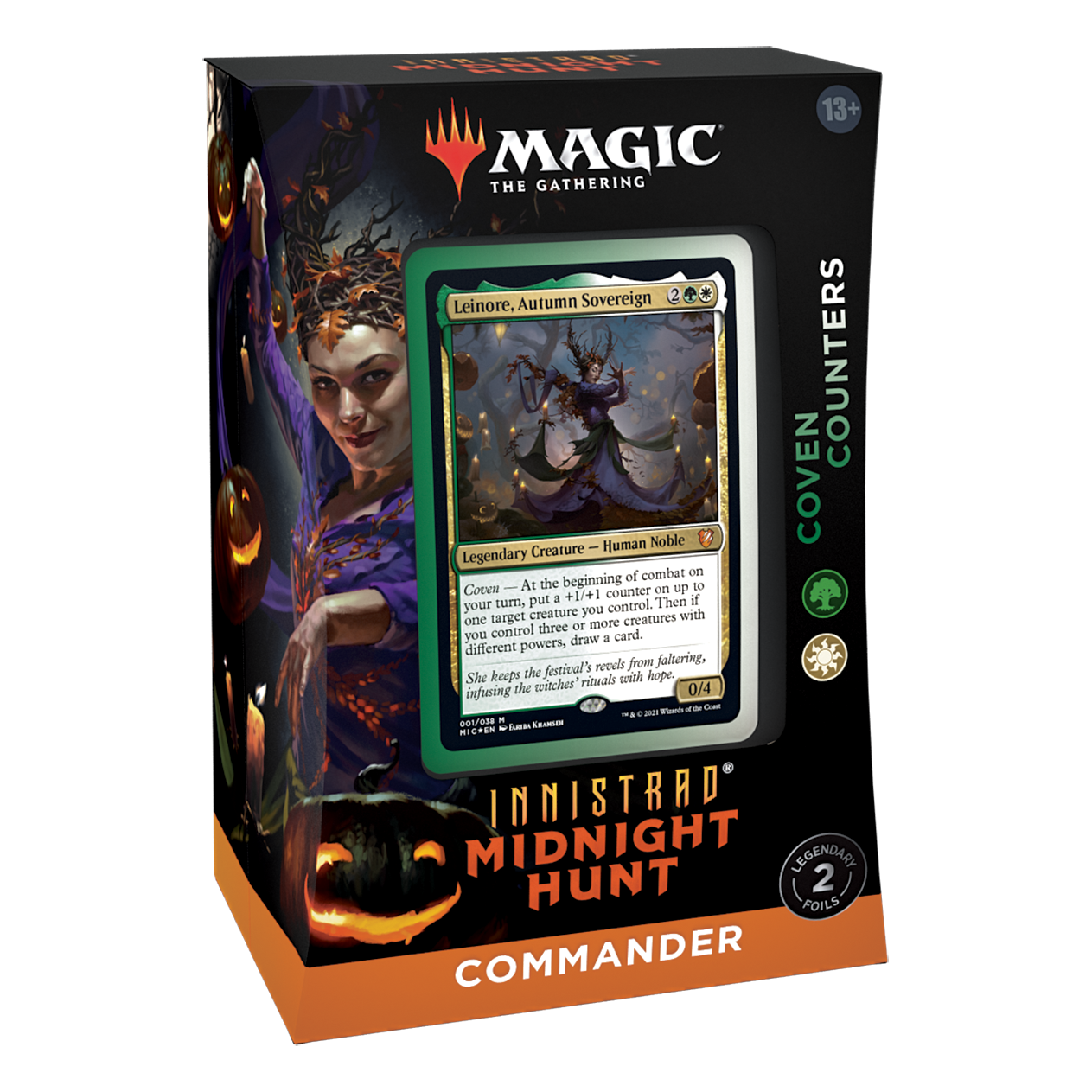 Innistrad Midnight Hunt Commander Coven Counters
