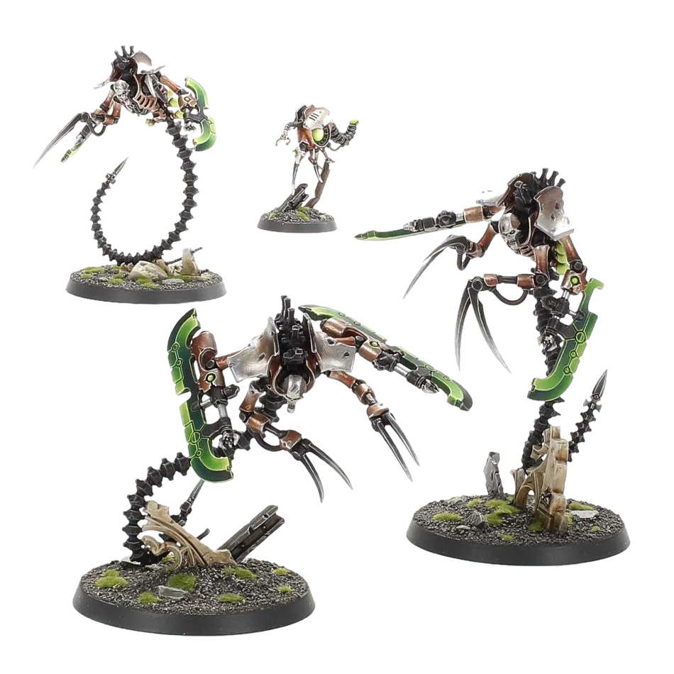 Necrons Ophydian Destroyers 1