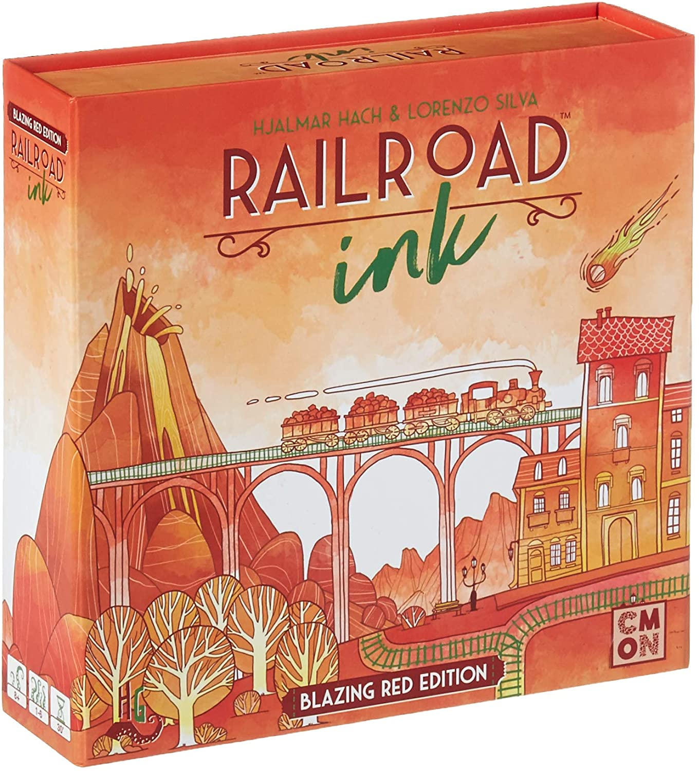 Railroad Ink Red
