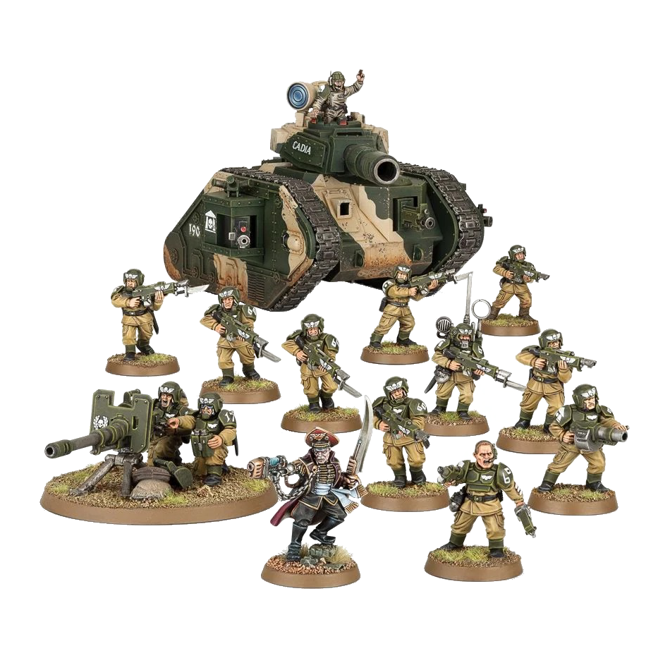 Start Collecting Astra Militarum 1