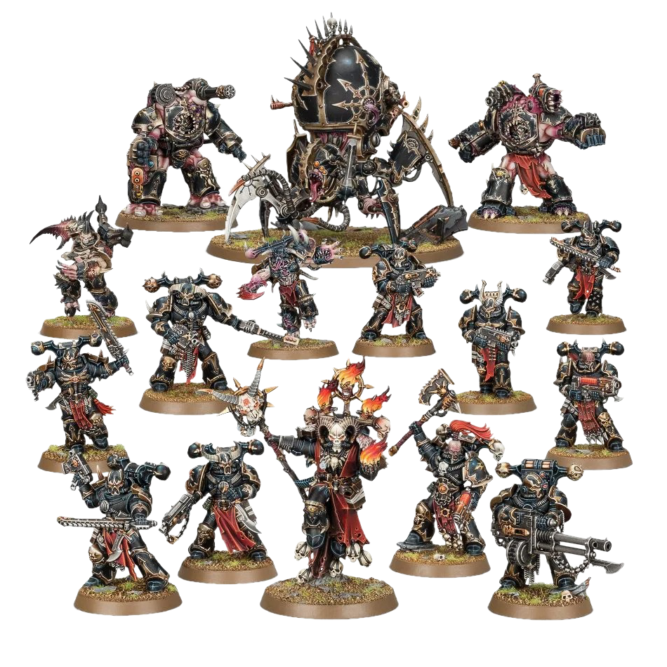 Start Collecting Chaos Space Marines 1