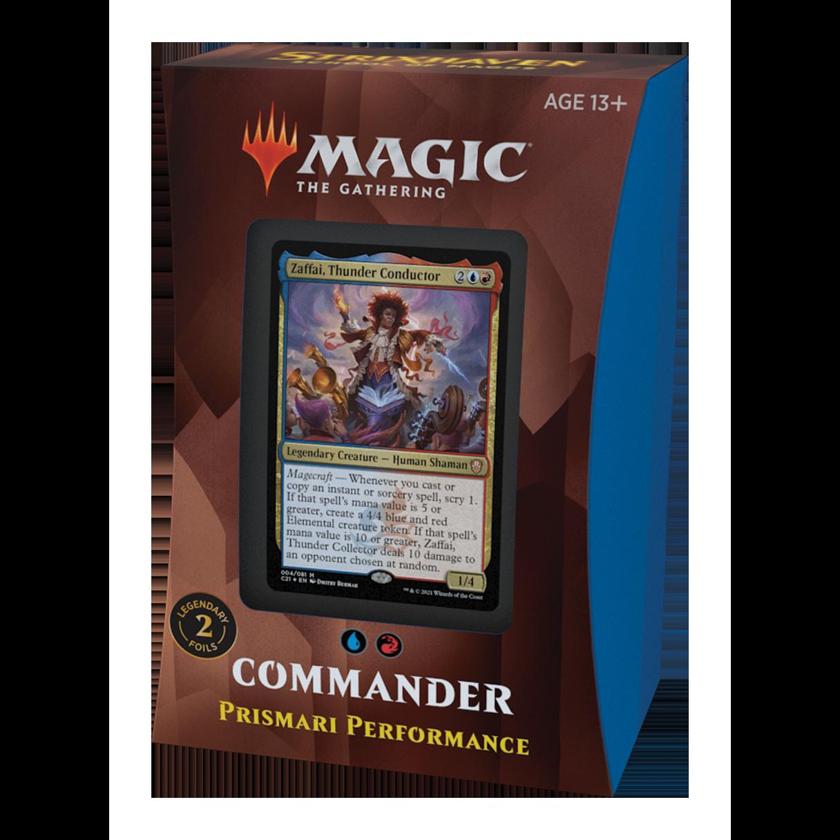 Strixhaven Commander Prismari Performance