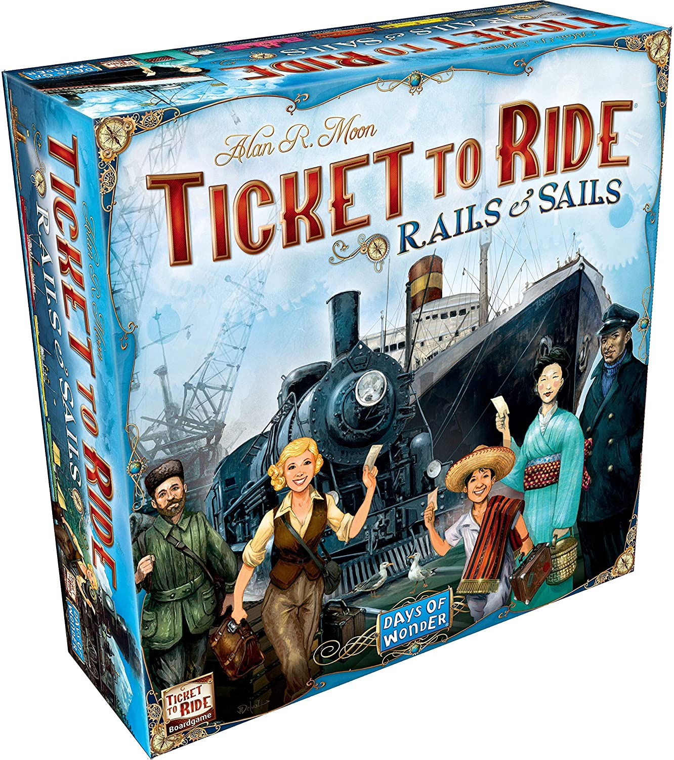 Ticket to Ride Rails and Sails 1